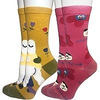CHIC Funny Sock Black DOg Cartoon Animal Print For Woman Man Boy Girl Chic Fashion
