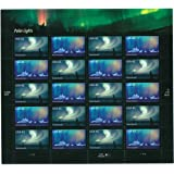 USPS 2007 Polar Lights Sheet of Twenty 41 Cent Stamps Scott 4203-04