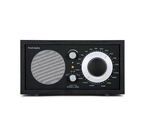 Tivoli AudioModel One AM / FM Table Radio, Black / Silver