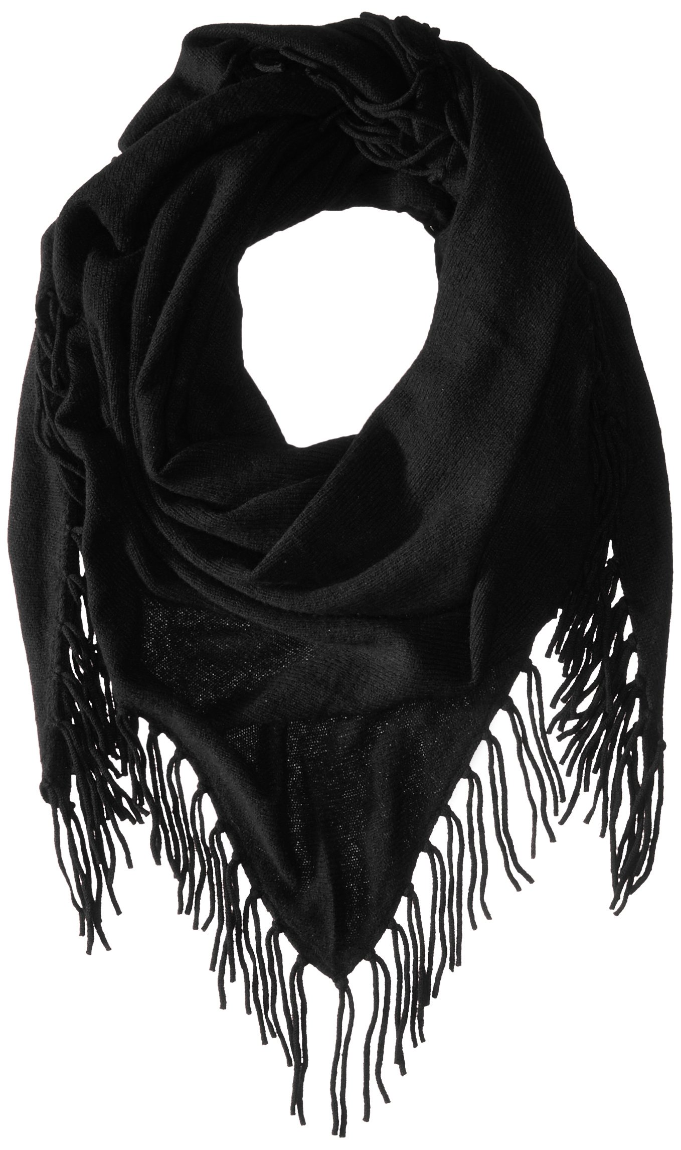 Design History Women's Cashmere Scarf, Charcoal, One Size