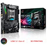 ASUS ROG STRIX X299-E GAMING LGA2066 DDR4 M.2 USB 3.1 802.11AC WIFI X299 ATX Motherboard for Intel Core X-Series Processors