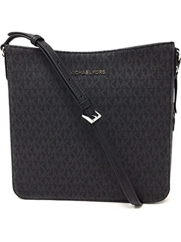 9afa512bfdead Amazon.com  Michael Kors Crosby Medium Pebbled Leather Messenger Bag ...