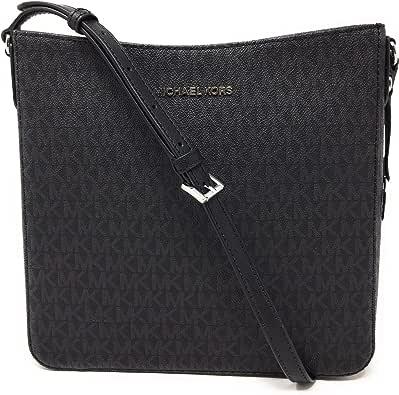 Michael Kors Jet Set NS Travel Messenger Bag Black/Black