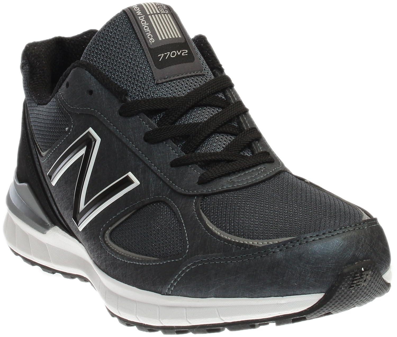 New Balance Men's M770v2 Running Shoe B01I5XA0HG 7 D(M) US|Grey/Black