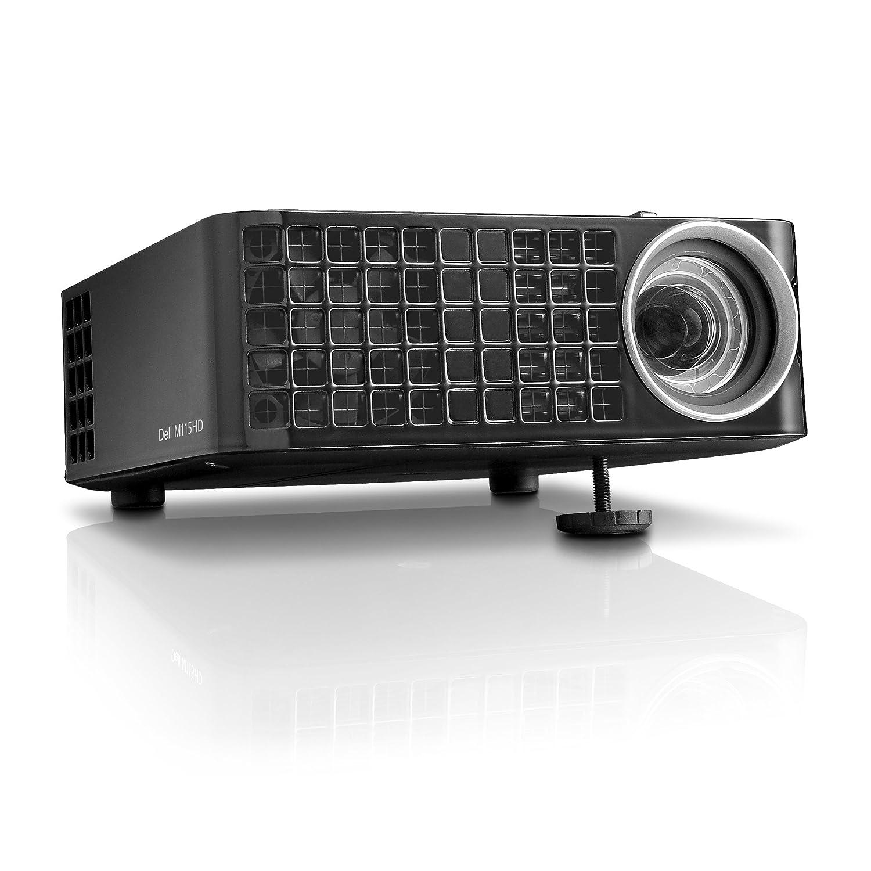 Dell M115hd Mobile Led Projector Wxga 1280x800 Hdmi Vo Tri 1gb Usb Inputs Internal Memory 450 Ansi Lumens Electronics