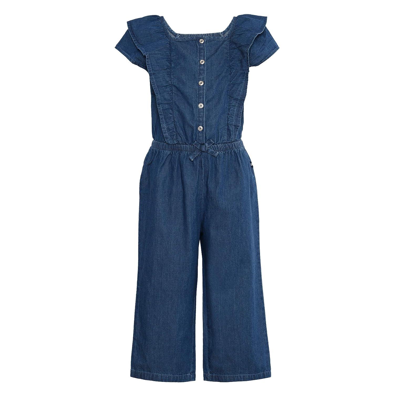 60s 70s Kids Costumes & Clothing Girls & Boys Nautica Girls Long Leg Jumpsuit $21.19 AT vintagedancer.com