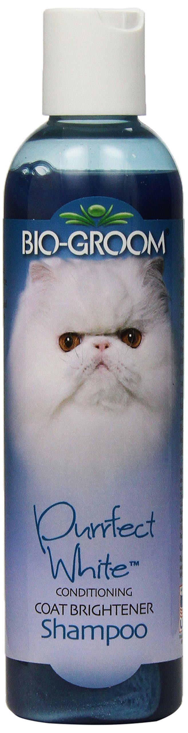 Bio-groom Purrfect White Cat Shampoo, 8-Ounce