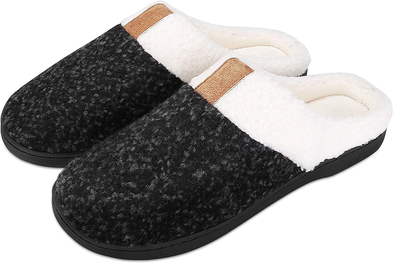Hawiton Pantofole Donna Invernale Gatto Ciabatte Uomo Cotone in Memory Foam Antiscivolo Scarpe da casa Caldo Slippers,Morbide e Comode