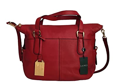 f150b73add3a3 Amazon.com  Ralph Lauren Andover Satchel