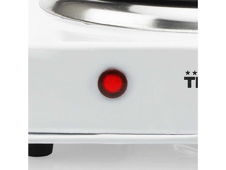 Tristar KP-6185 - Placa de cocción con termostato, diámetro de 15 cm