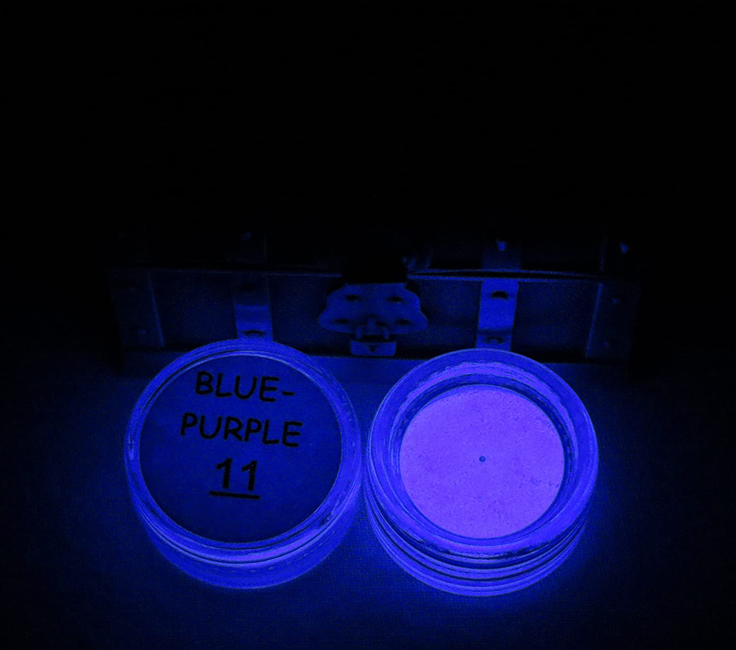ULTIMATE GLOW in The Dark Pigment Powder for Your Wonderful Collection of Art and Craft Supplies for Kids and Adults. Make Glow in The Dark Slime!!! (2g x 16 = 32g, Multi-Color Sample Pack)
