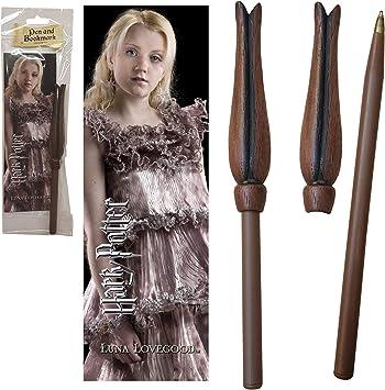 The Noble Collection Harry Potter Wand Pen y Marcador de Luna Lovegood