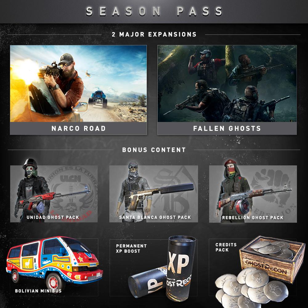 Amazon com: Tom Clancy's Ghost Recon Wildlands: Year 2 Pass