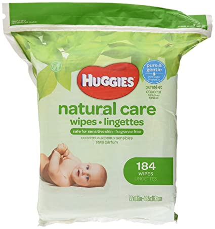 Huggies Natural Care Fragrance Free Baby Wipes 552 Total Wipes 184 Count by Huggies: Amazon.es: Salud y cuidado personal