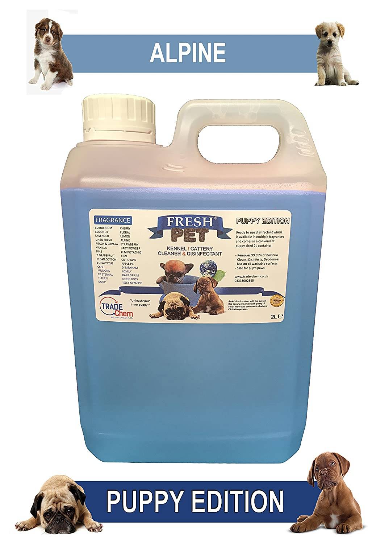 Trade Chemicals Perrera desinfectante para perros, 2 L, limpiador ...