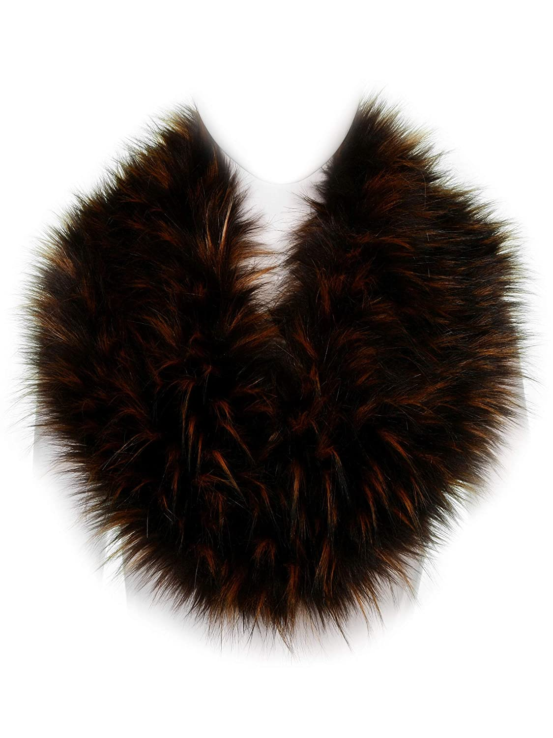 Futrzane Winter Scarf Wrap Faux Fox Fur Collar Shawl Neck Warmer Futrzane-kolnierz-15