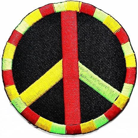 HHO paz rastafari Rasta Reggae signo símbolo Hippie DIY Logo ...