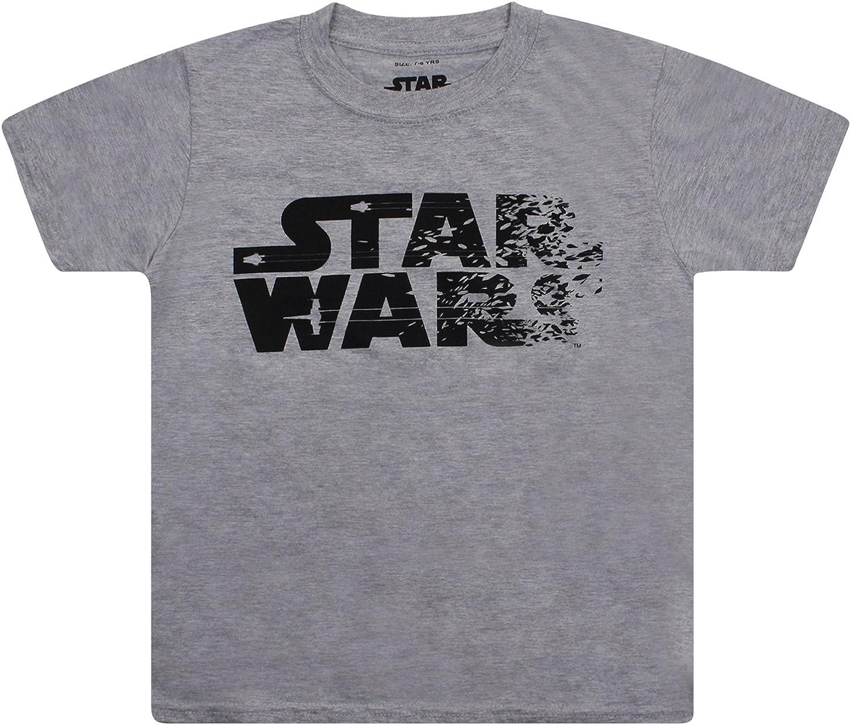 Star Wars Rebel Text T-Shirt Gar/çon