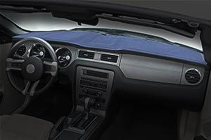 Coverking Custom Fit Dashcovers for Select Pontiac Firebird Models - Poly Carpet (Medium Blue)