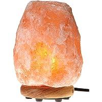 Himalayan Glow Hand Carved Natural Salt Lamp (Orange)