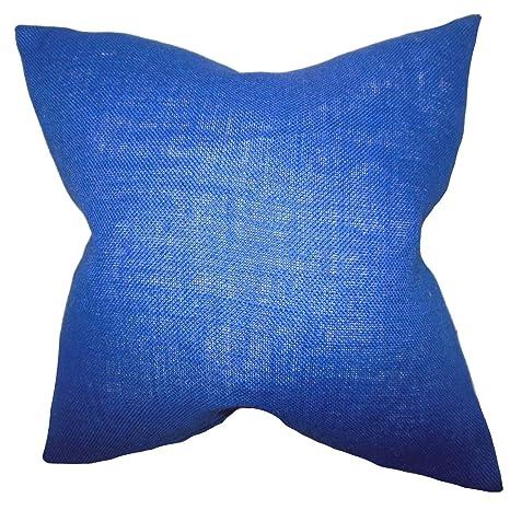 Amazon.com: La almohada Collection Ellery Solid almohada ...