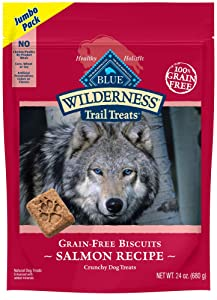 Blue Buffalo Wilderness Trail Treats Grain Free Biscuits Crunchy Dog Treats