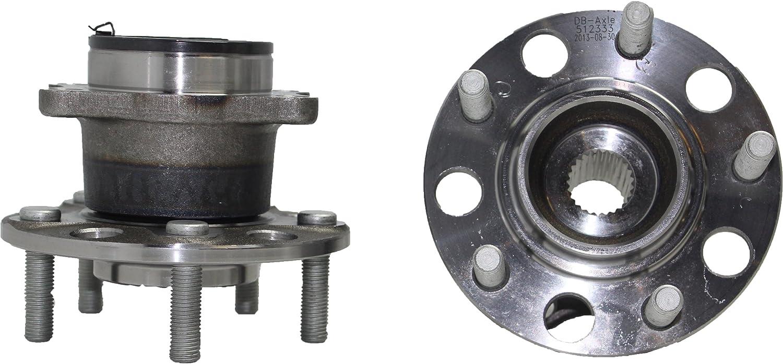 New Rear Axles /& Wheel Hub Bearings for Jeep Compass 2007-2012 ALL WHEEL DRIVE