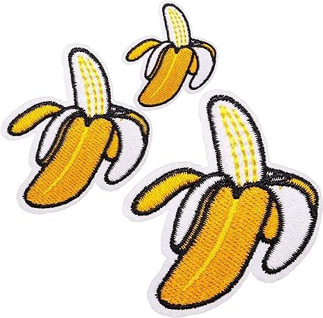 A-Peeling Banana sew-on patch