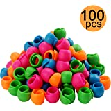 New Brothread 100pcs Thread Spool Savers/Spool Huggers - Prevent Thread Tails from Unwinding - No Loose Ends for Sewing…