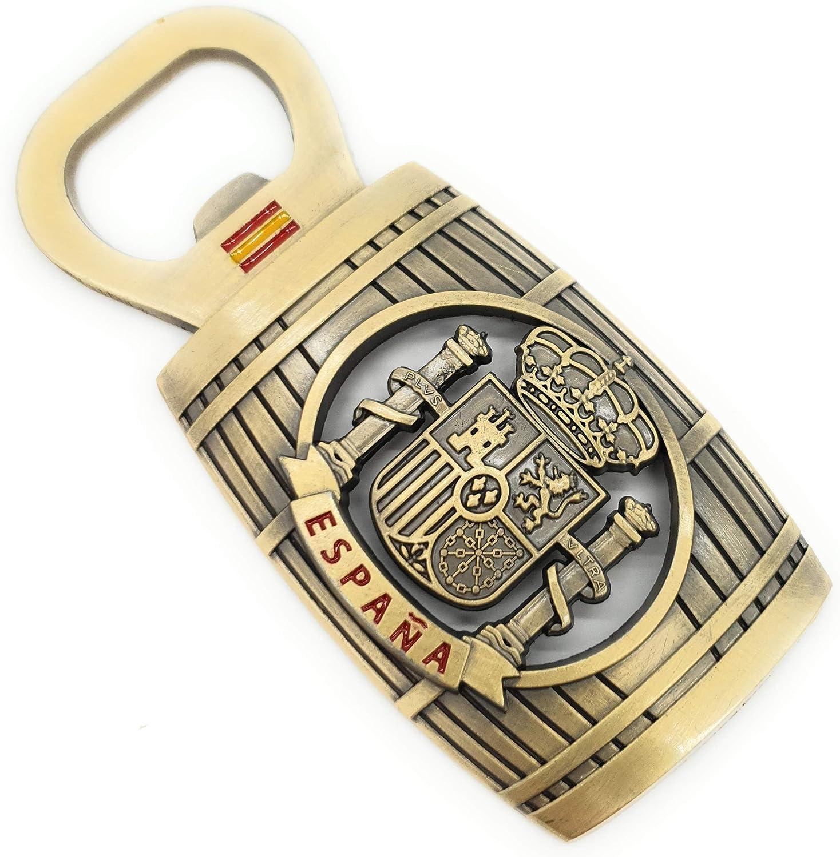 MovilCom® - iman Nevera| Figuras magneticas | imanes Nevera Personalizados de España Abridor de Botellas | diseño Exclusivo Recuerdo de España (Mod.008): Amazon.es: Hogar