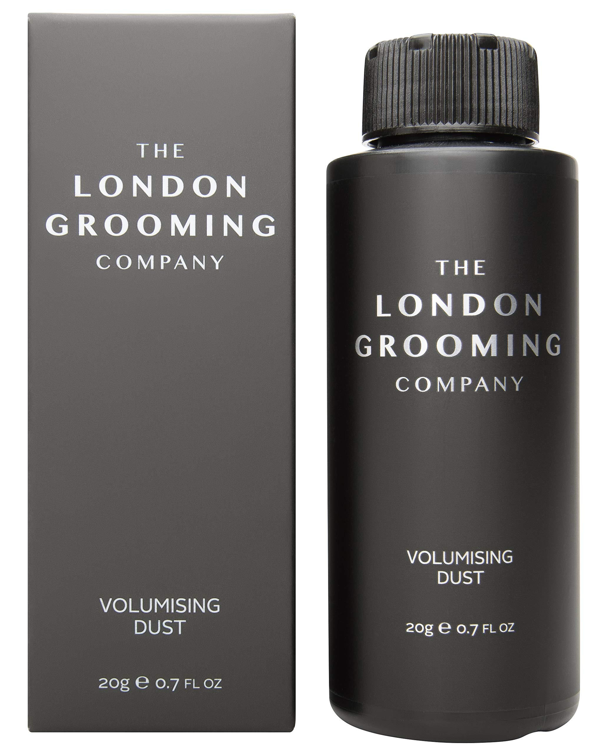 The London Grooming Company Volumizing Matte Styling Texturizing Hair Powder for Men, 0.7oz (20gm) Shaker Bottle by The London Grooming Company