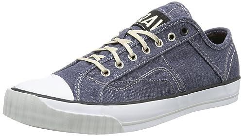 G-Star Campus Raw Scott III Denim, Zapatillas Altas para Hombre, Azul-Blau (Heavy Chambrey DBA), 43 EU: Amazon.es: Zapatos y complementos