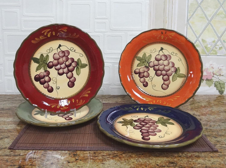 Ceramic Plate Measures 10-inches Diameter