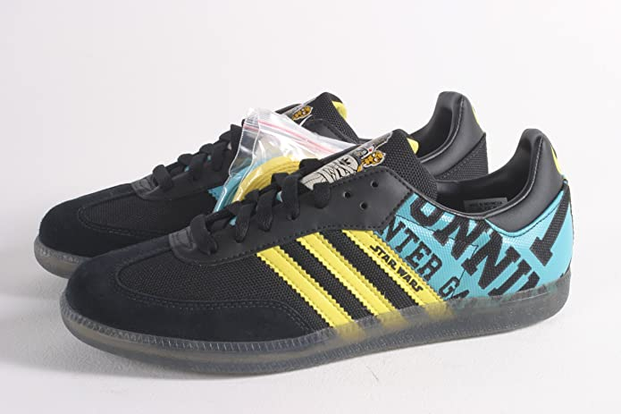 huge selection of 112b8 7147d ... new lower prices 5a96d f100b Adidas Samba S.W.. Star Wars Bobsleigh  Black, Size 45 ...