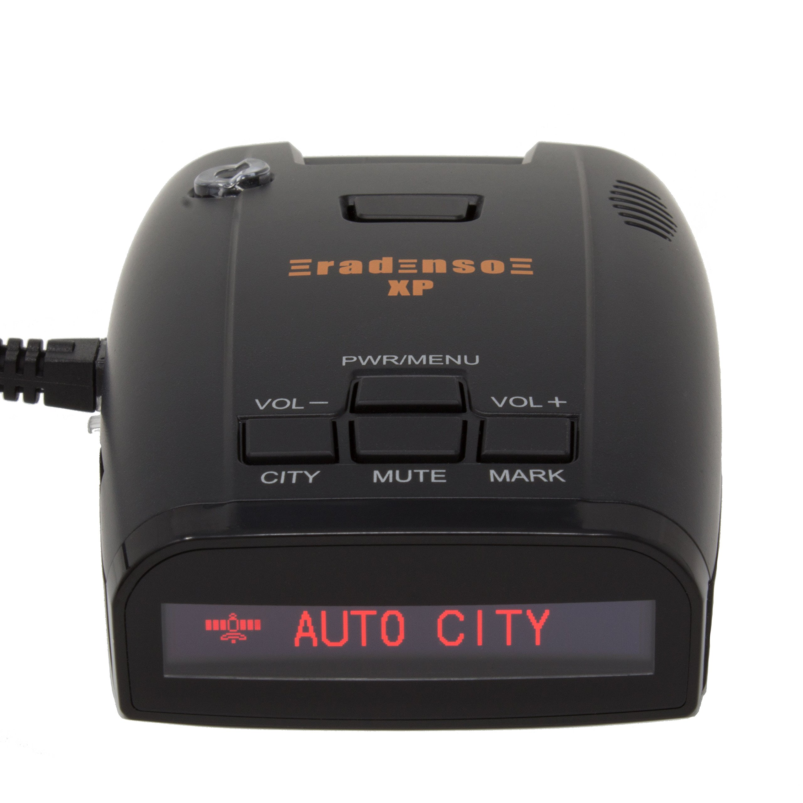 Radenso XP Radar & Laser Detector with GPS Lockout and Red Light / Speed Camera Voice Alerts