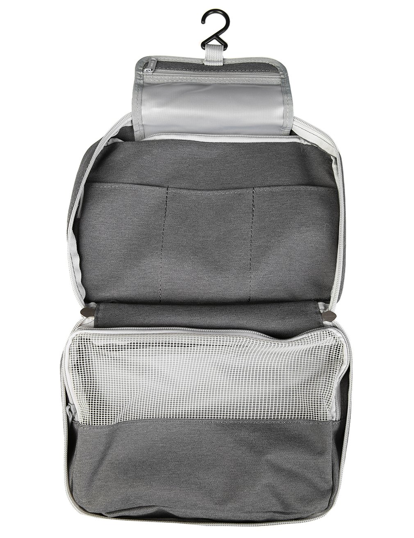 iSuperb Beauty Case Viaggio Borsa Toilette da Appendere Cosmetic Bag Organizer Impermeabile per Donna e Uomo 25x17x9cm (Blu)