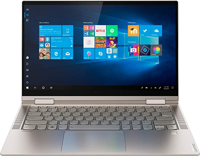 Lenovo Yoga C740-14 FHD Touch - 10th gen i5-10210U - 8GB - 256GB SSD - Mica
