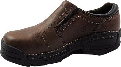 Brown Slip On Opanka Steel Toe EH