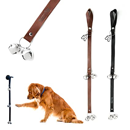 Exceptionnel Mighty Paw LEATHER Tinkle Bells, Premium Leather Dog Doorbells, Extra Soft  Leather Durable Jingle