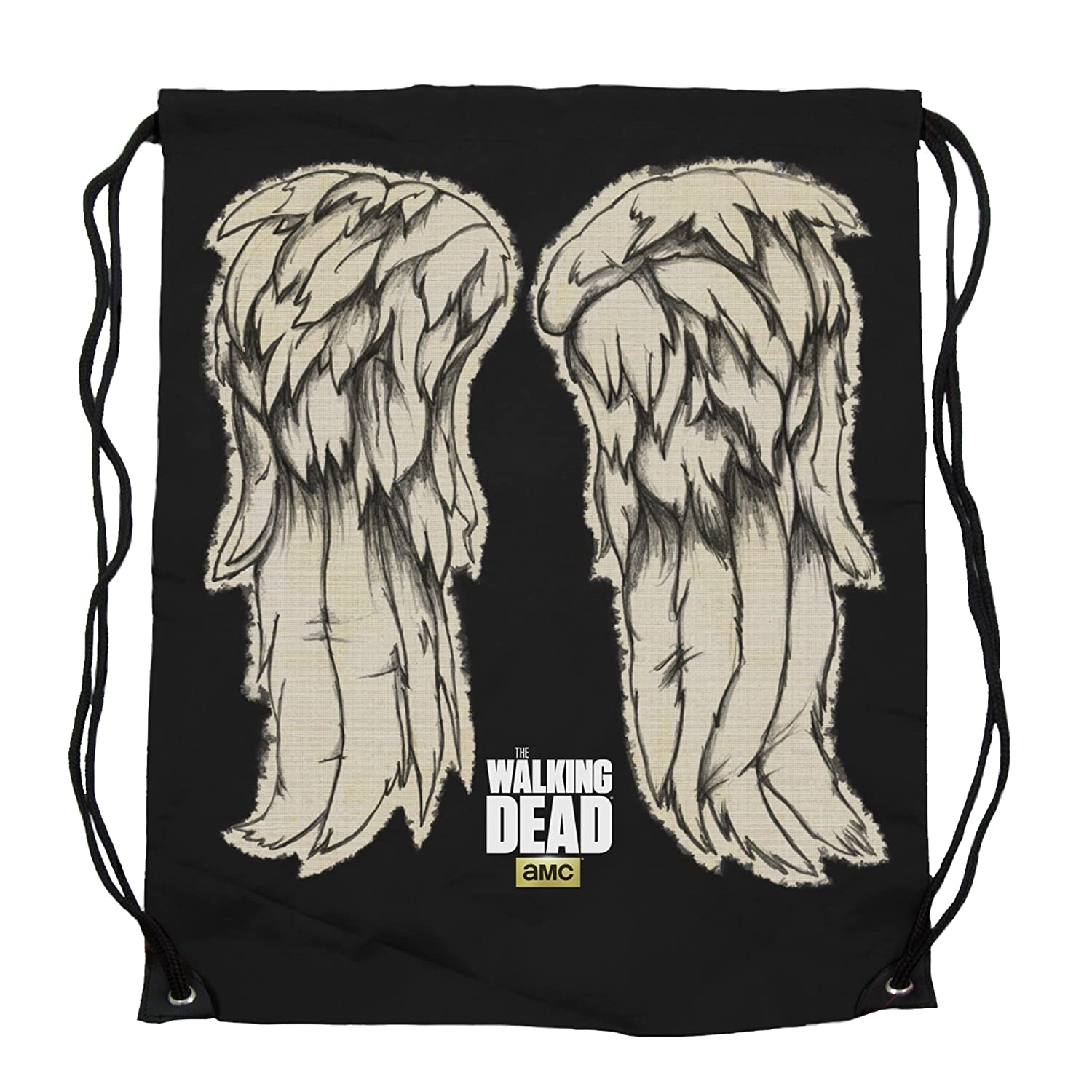 The Walking Dead Daryl Dixon Wings Cinch Bag Toy Zany