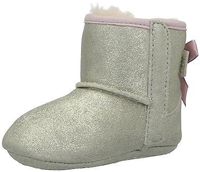 7659a6eda55 UGG Kids' I Jesse Bow II Metallic Boot