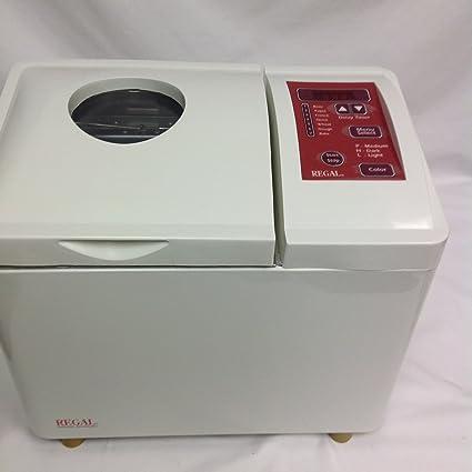 amazon com regal breadmaker k6726 bread machine kitchen dining rh amazon com Regal Breadmaker K6751 Manual Regal Bread Machine Parts