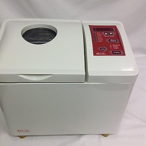 Amazon.com: Regal BREADMAKER k6726 Pan máquina: Kitchen & Dining