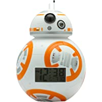 BulbBotz Despertador con luz Infantil figurita de BB-8