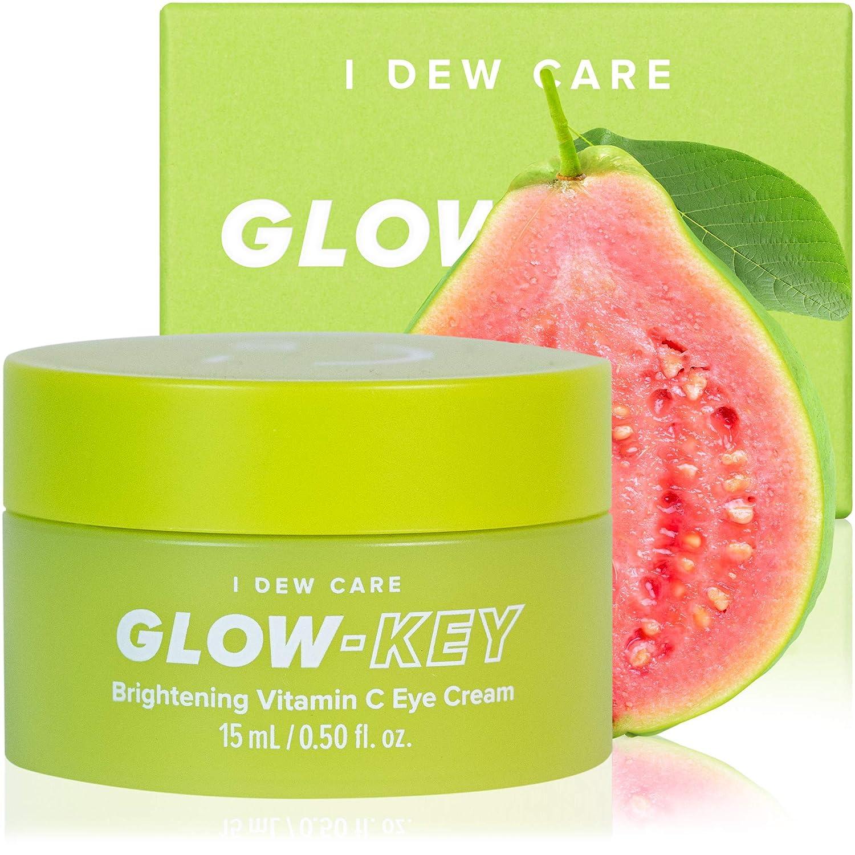 I DEW CARE Glow-Key | Brightening Vitamin C Eye Cream | Korean Skincare, Vegan, Cruelty-free, Gluten-free, Paraben-free