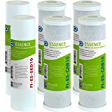 APEC Water Systems FILTER-SET-ESX2 2 Sets of High Capacity Replacement Pre-Filter Sets For Essence Series Reverse Osmosis Wat