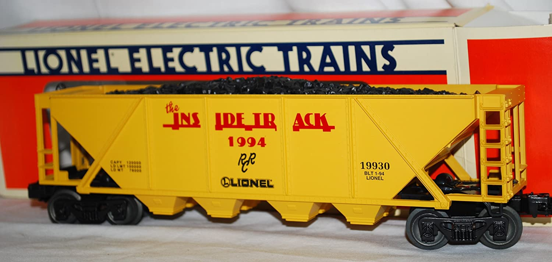 Lionel Railroaders Club LRRC 6-19940 Four Bay Quad Hopper Inside Track 1994 boxd B00JUGIBBK