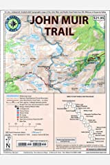 John Muir Trail Map-Pack: Shaded Relief Topo Maps (Tom Harrison Maps) Map