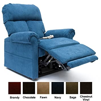 Easy Comfort LC 100 Infinite Position Lift Chair   Navy