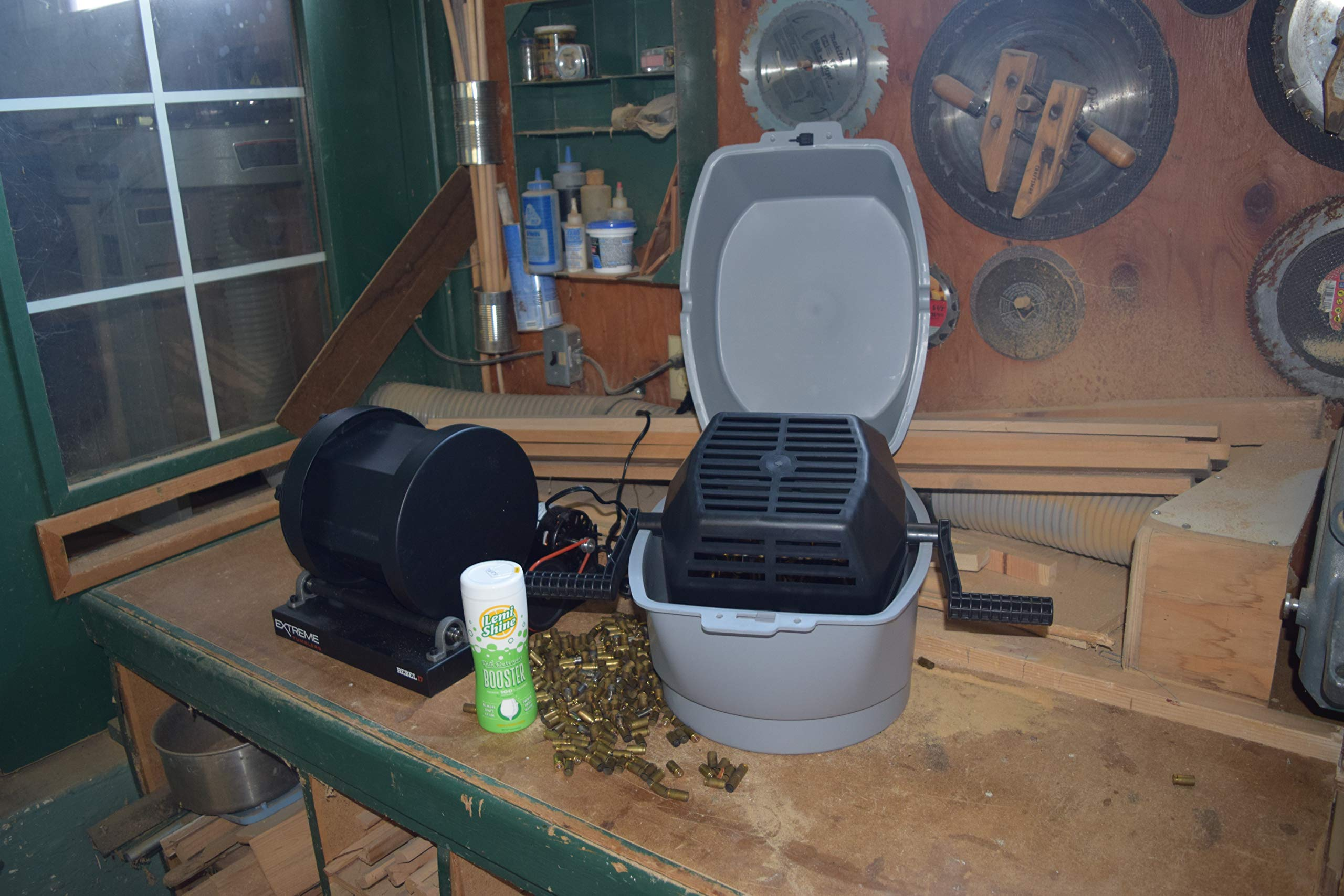 Extreme Tumblers Stainless Steel Deluxe Ammo Reloading Kit Rebel 17 Tumbler - Media Separator - Stainless Steel Media - Detergent by Extreme Tumblers (Image #3)